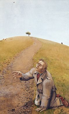 William Kurelek, Lord That I May See, watercolour and gouache on cardboard, x cm, Montreal Museum of Fine Arts. Canadian Painters, Canadian Artists, William Kurelek, Contemporary Artists, Modern Art, Winnipeg Art Gallery, Sarah Lombardi, Collage Illustration