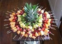 Fruit Skewer Display