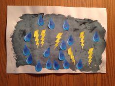 Storm Craft - Kindergarten Craft - Science Craft - Kids Craft