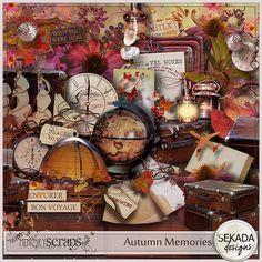 Autumn Memories :: Full & Mini Kits :: Memory Scraps