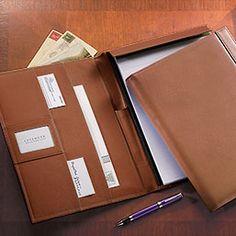 Tyler Folio - Leather Portfolio, Padfolio, Pad Holder, Folio, Portfolio