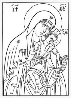 Russian Orthodox, Orthodox Icons, Coloring Pages For Kids, Diy And Crafts, Sketches, Words, Cartoons, Patterns, Google