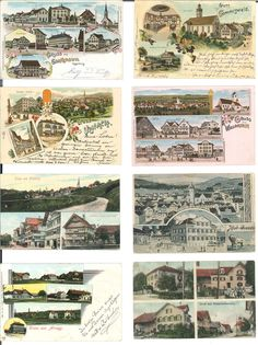 Canton St. Gallen - Good collection with approximate 200 cards, predominantly Toggenburg with numerous colored lithographies. Nice object. Starting price 200.-  Lot condition   Dealer Rapp Auctions  Auction Starting Price: 200.00 SFr
