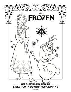 coloriages la reine des neiges gratuit à imprimer