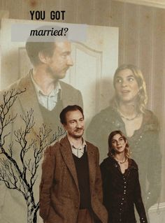 """""""You got married?"""" Harry yelped, looking from her to Lupin. """"I'm sorry you couldn't be there, Harry, it was very quiet."""""""