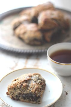 Earl Grey Chocolate Scones