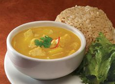 Yellow Curry with Potato and Chicken A Thai classic comfort food…LOVE yellow curry!