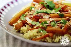 Gierst met geroosterde wortels #dagenzondervlees