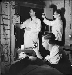 MALE NURSES LIFE RUNWELL HOSPITAL WICKFORD ESSEX 1943 (D 14311) FROM THE IMPERIAL WAR MUSEUM LONDON