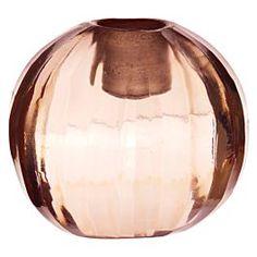 Tine K Home Kandelaar Glas Roze - Ø4,5 cm