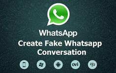 Create Fake Whatsapp Conversation On Android - Whatsapp Tricks