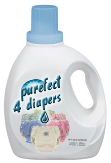 chart of detergents for cloth diapers