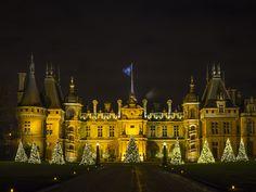 Christmas In England, English Christmas, England Uk, Great Britain, Big Ben, Castles, Terrace, Manor Houses, Exterior