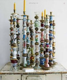 anthro candlesticks