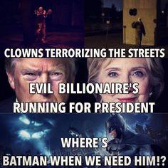Wheres Batman when we need him!?? http://ift.tt/2dzloJn
