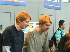 Harry Potter Twins, Harry Potter Characters, Tom Felton, Hogwarts, Slytherin, F4 Boys Over Flowers, Oliver Phelps, Phelps Twins, Fred