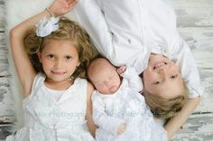Newborn with Siblings photo #photography #children's photography