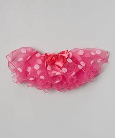 Look at this Hot Pink Polka Dot Tutu - Toddler on #zulily today!