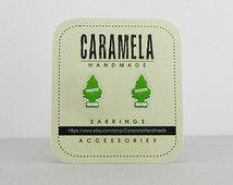 Tree car air freshener Stud Earrings - Retro funny