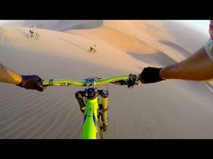 Downhill Mountain Biking in the Wilds of Africa. http://WhatIsTheBestMountainBike.com