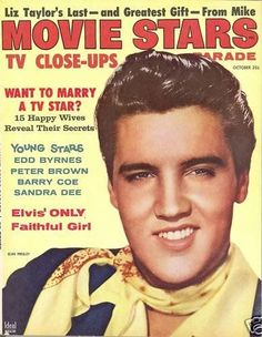 Elvis Presley - Movie Stars Magazine [United States] (October 1958)