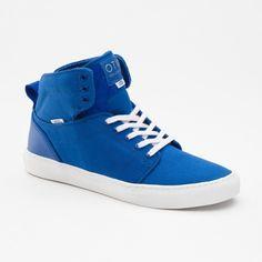 Vans Alomar Canvas Suede Heren Schoenen Basic blauw wit