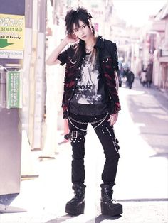 CDJapan : BLACK DAMAGE FLARE Cut Shirt (M) SB01064-101 SEX POT ReVeNGE APPAREL. See more at: http://www.cdjapan.co.jp/apparel/ #punk #japanesefashion