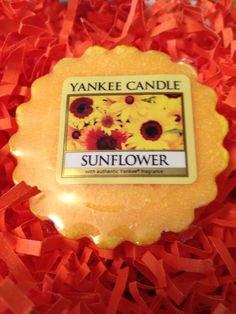 Yankee Candle Sunflower Tart Wax Melt 8 oz. Floral Scent #YankeeCandle