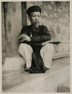 1926 Huế - Mandarin    một ông quan