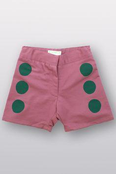 dot shorts: hand-printed Wovenplay ss2013