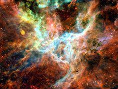 The unseen beauty of God's Creation--Tarantula Nebula