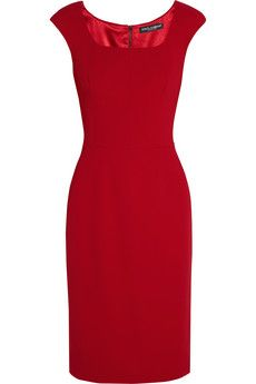 Dolce & Gabbana Stretch-cady dress | NET-A-PORTER