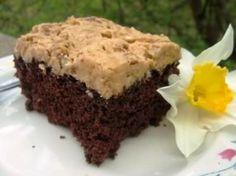 Bryanna Clark Grogan's Vegan Feast Kitchen/ 21st Century Table: NEW LOWER-FAT CHOCOLATE MUDPIE CAKE WITH COFFEE/COCONUT/PECAN ICING