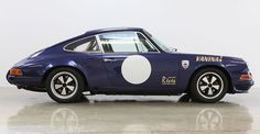 The Harrison Collection  Ex-Vanina Ickx 1972 Porsche 911 2.4S