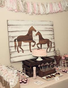 Pony/Horse Birthday Party Ideas | Photo 14 of 16