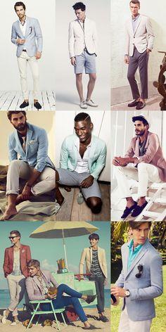 Pastel-Coloured Blazers Lookbook