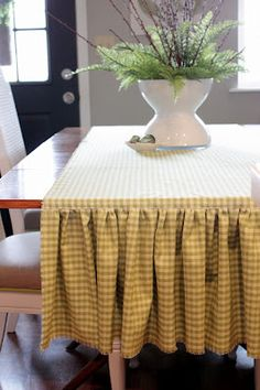 Sweet Something Designs...Easy peasy instructions on making this runner.