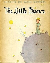 The Little Prince, by Antoine de Saint-Exupery. Going to send this old favorite to my young friend Graham.