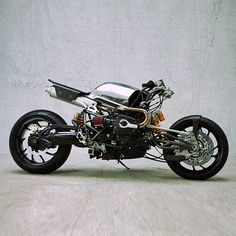 motorcycle- now thats just a cool looking front suspension but makes the rear seen a lil outdated!