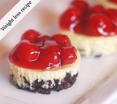 Weight Loss Recipes – Cherry Cheesecakes