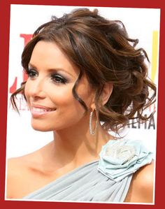 Image detail for -Trendy Messy Updo Hairstyles With Bangs | Celebrity Fashion