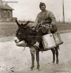 Bulgarian milkman, 1920s