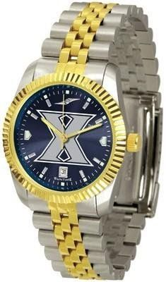 Xavier University Musketeers Men's Stainless Steel Alumni Dress Watch by Squeak Me Shoes. $139.95. Links Make Watch Adjustable. AnoChrome Dial Enhances Team Logo And Overall Look. Stainless Case With 23kt Gold-Plated Bezel. Men. Officially Licensed Xavier Musketeers Men's Stainless Steel Alumni Dress Watch. College men's watch. Xavier Musketeers two-tone alumni dress watch offers men a classic, business-appropriate look. Features a 23kt gold-plated bezel, stainless ...