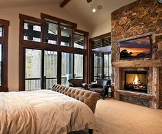 1000 Images About Master Bedroom Fireplace Ideas On Pinterest Stone