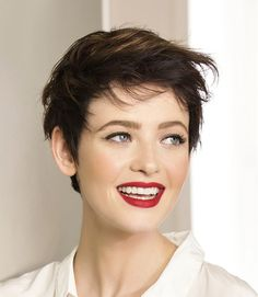 Naughty Girl Short Hairstyle Look