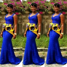 afrikanischer druck BellaNaija Weddings presents Vol. 193 The Latest Aso Ebi Styles African Dresses For Women, African Print Dresses, African Attire, African Women, African Outfits, African Wear, African Prints, African American Fashion, African Print Fashion