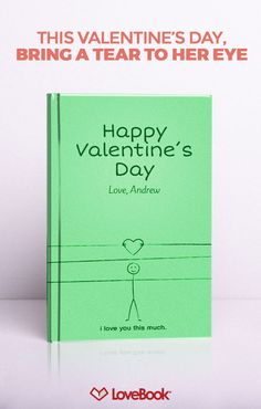 No doubt she knows you love her, but does she know all the little reason why? Tug on her heartstrings with Lovebook, and create a story entirely unique to you. Your perfect Valentine's Day gift awaits at lovebookonline.com