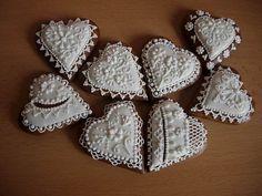 3576489_3682051_720_1_ (640x480, 48Kb) Lace Cookies, Flower Cookies, Heart Cookies, Old World Christmas, Christmas Fun, Christmas Cookies, Holiday, Honey Cake, Xmas Food
