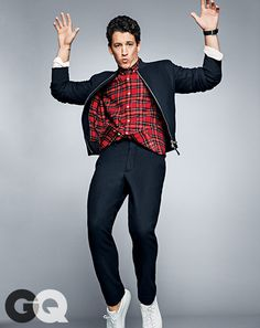 Miles Teller. He's in some pretty raunchy movies that I don't like, but he's a dream boat for sure.