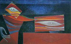 Max Ernst, Two Foolish Virgins, 1947